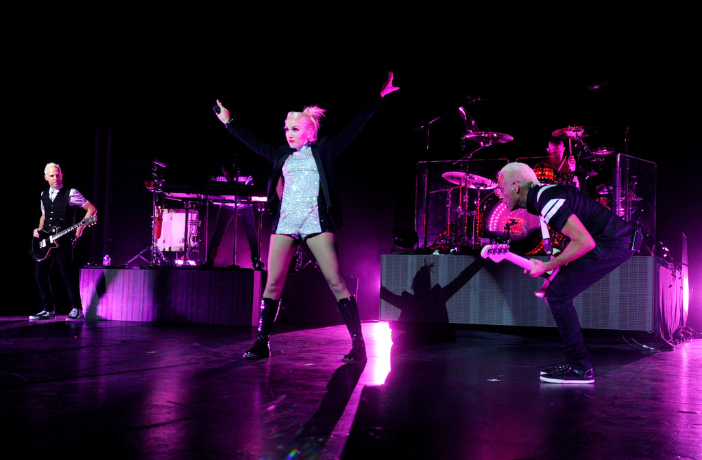 Gwen Stefani and the rest of No Doubt put on a show for LA fans.
