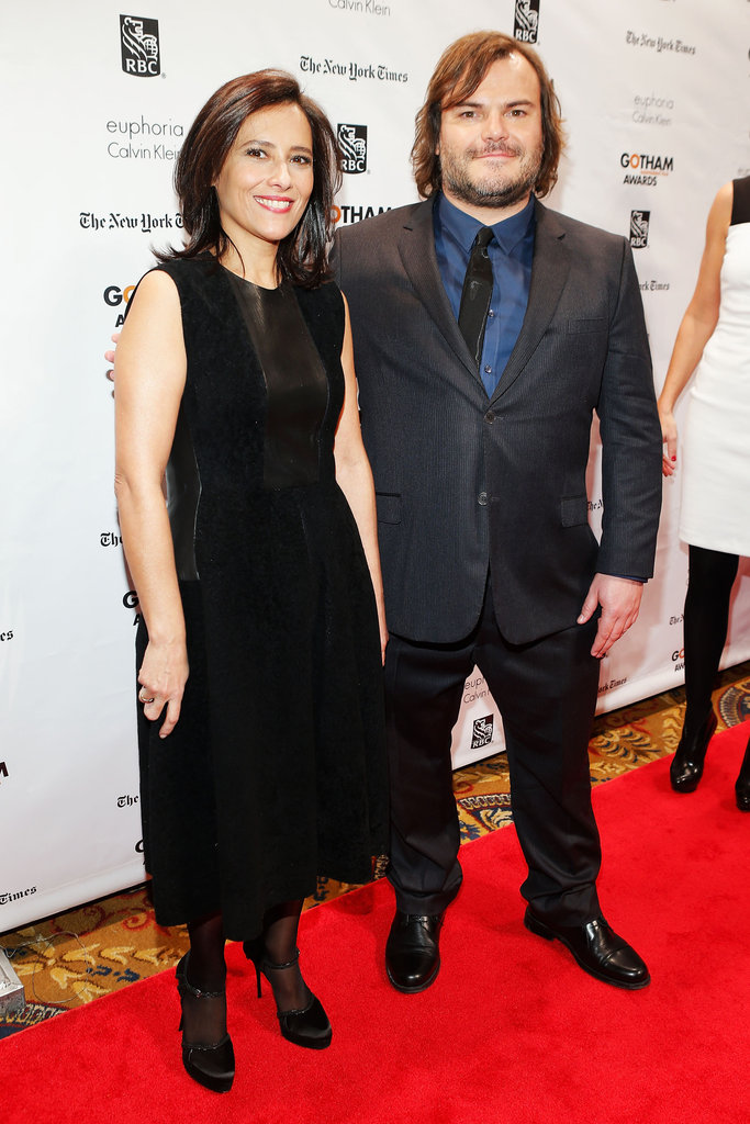 Joana Vincente and Jack Black