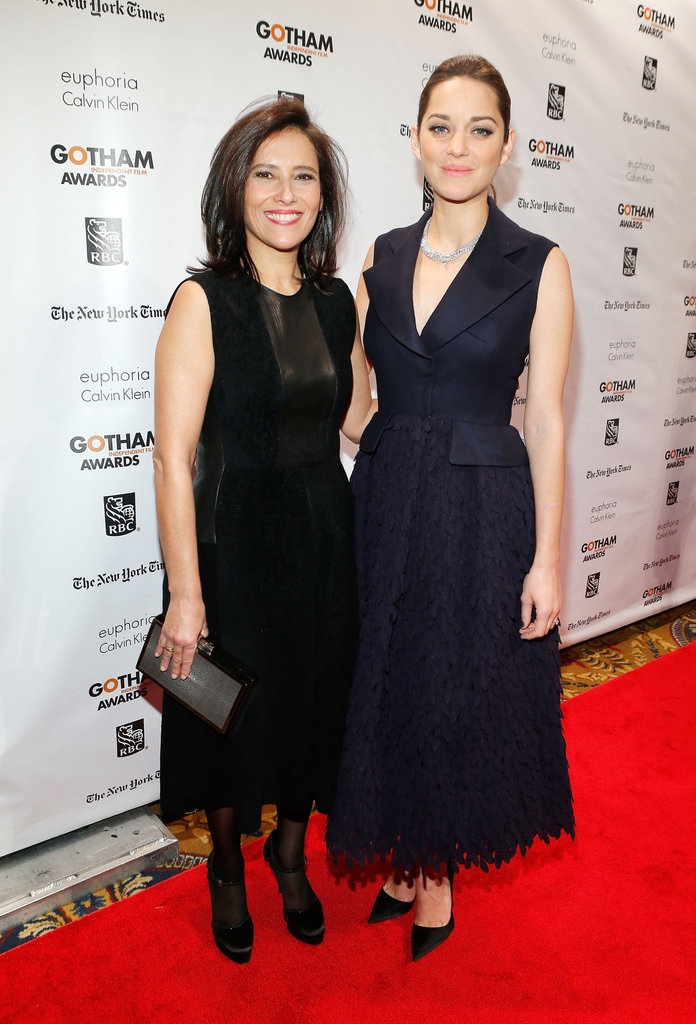 Joana Vincente and Marion Cotillard