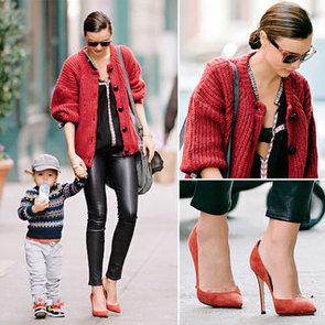 Steal Miranda Kerr's Cosy Knit Street Style Look Online