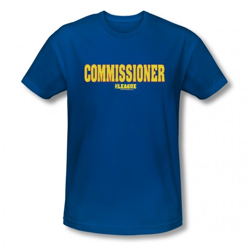 The League Commissioner T-Shirt ($27)