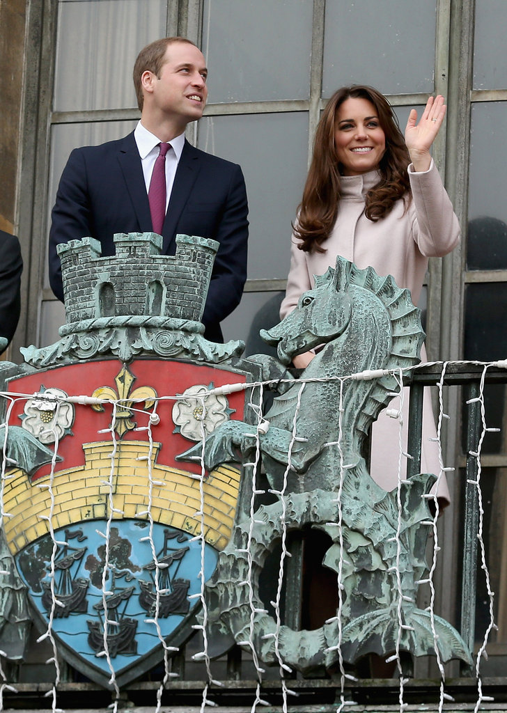 Kate Middleton and Prince William made an official visit to Cambridge.