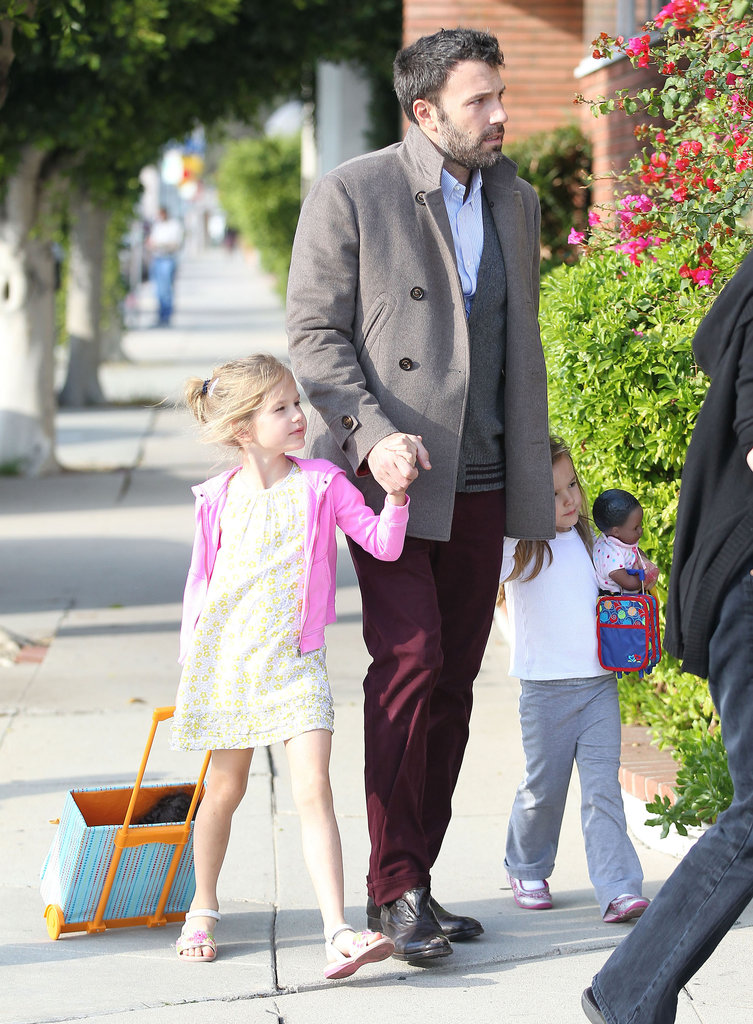 Ben Affleck Celebrates a New Honor With His Mother and Daughters