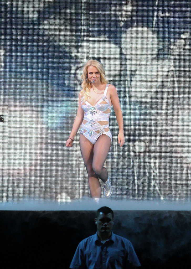 Britney Spears performed in Mexico City in December 2011.
