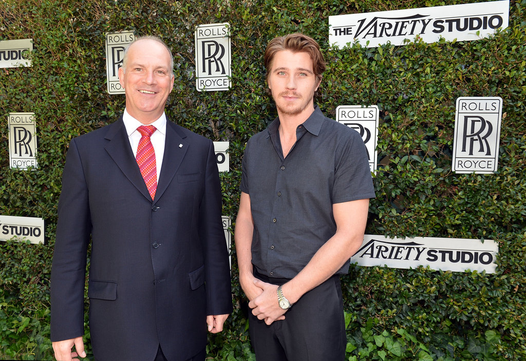 Garrett Hedlund posed for photos in LA.