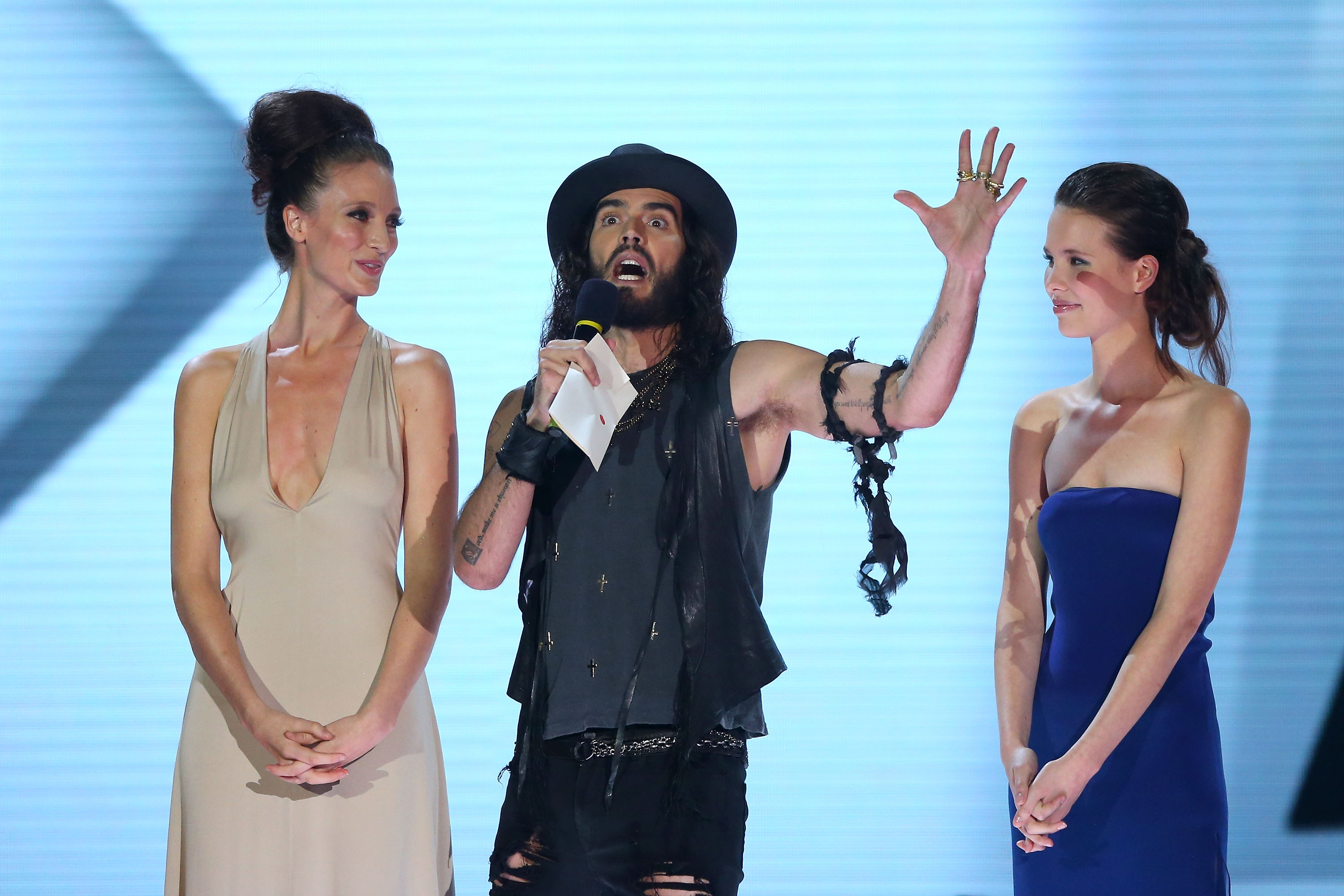 Russell Brand was in attendance for the Aria Awards in Sydney.