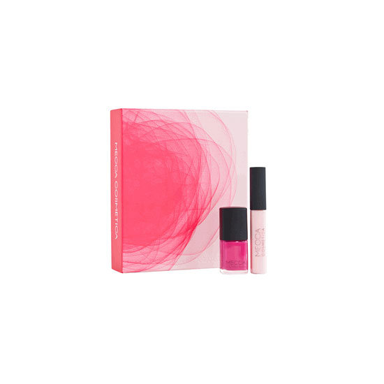 Limited Edition Mecca Cosmetica + Scanlan & Theodore Lip & Nail Duo in Pink, $50
