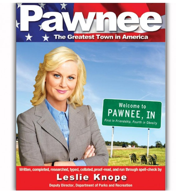 Pawnee: The Greatest Town in America Book ($15)