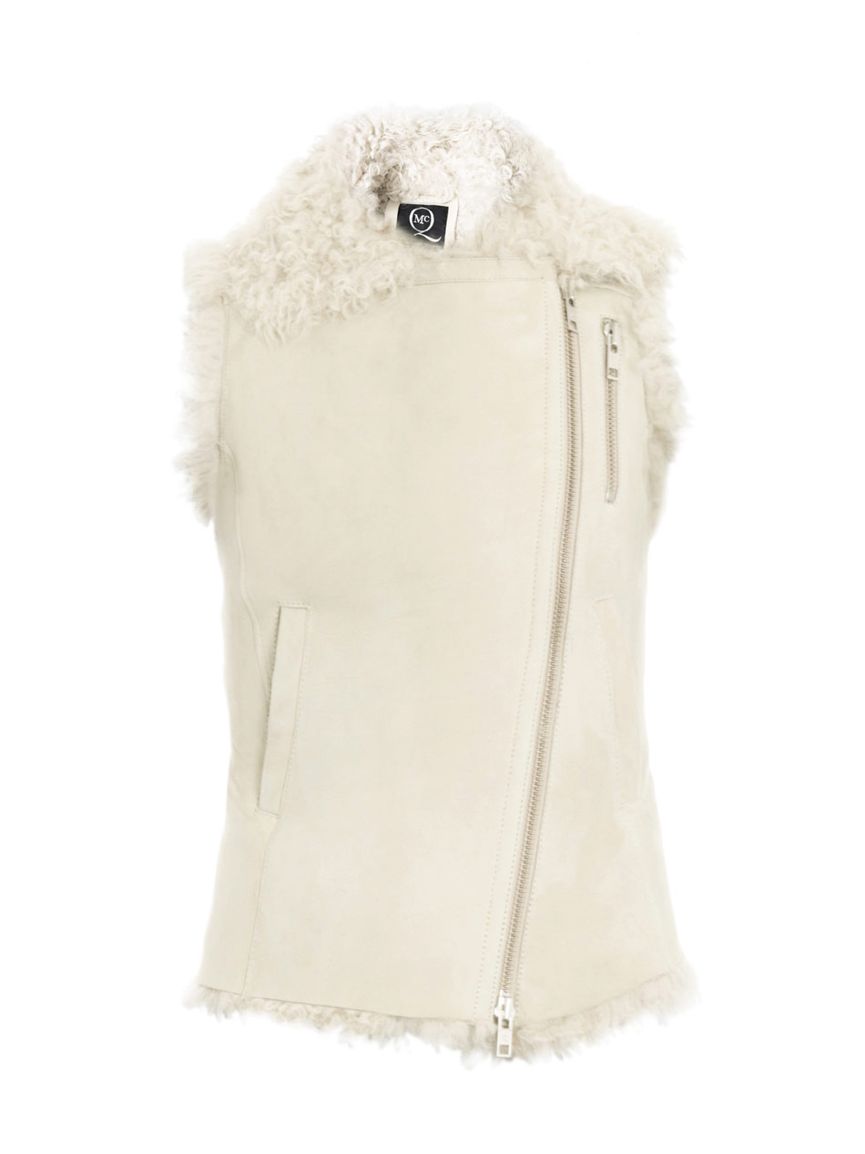 This is one of those aspirational items that you dream about; it's that beautiful and perfect. Or, at least, I dream about. Yes, I'm convinced this McQ by Alexander McQueen shearling gilet ($1,663) is the epitome of Winter white elegance, and I already have some grand plans for how I'd like to layer this zippered vest if I find it under the Christmas tree. — Marisa Tom, associate editor