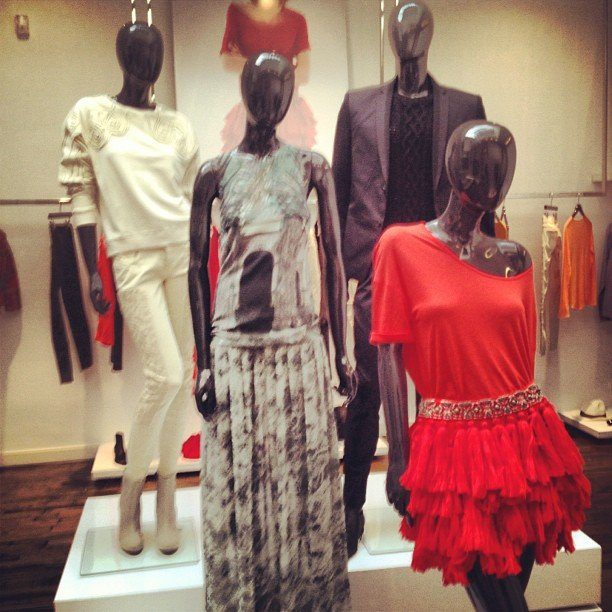 It was all color, frills, and embellishment for H&M Spring '13.