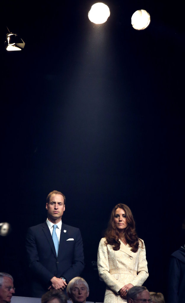 Kate Middleton and Prince William attended the London Paralympics opening ceremony in August.