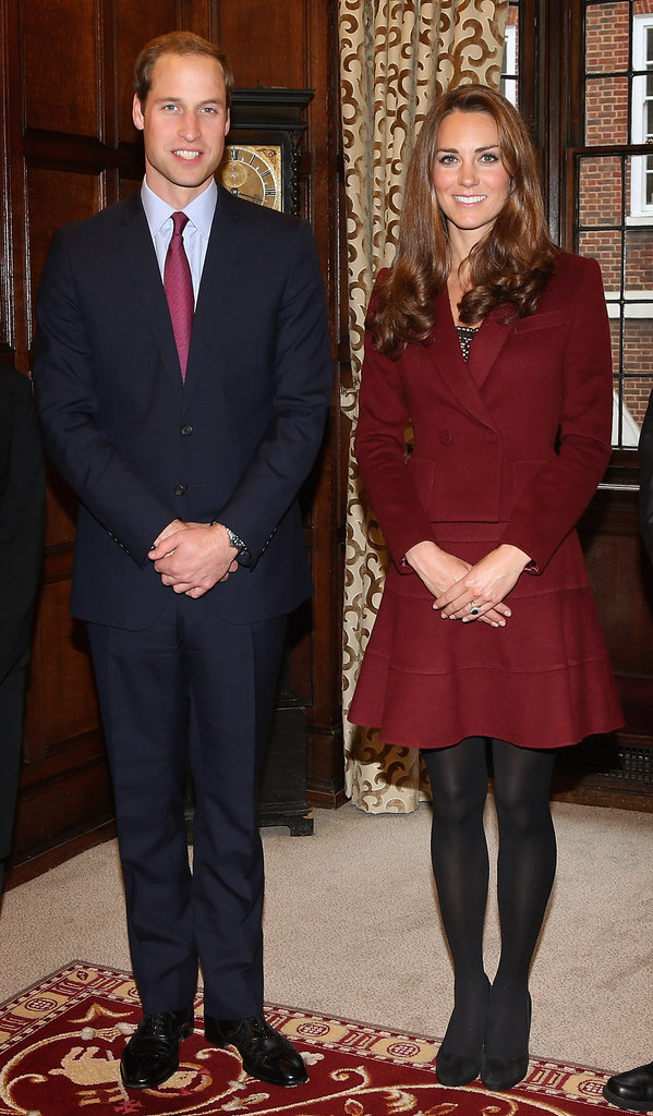 In October, Prince William and Kate Middleton met recipients of legal scholarships at Middle Temple in London.
