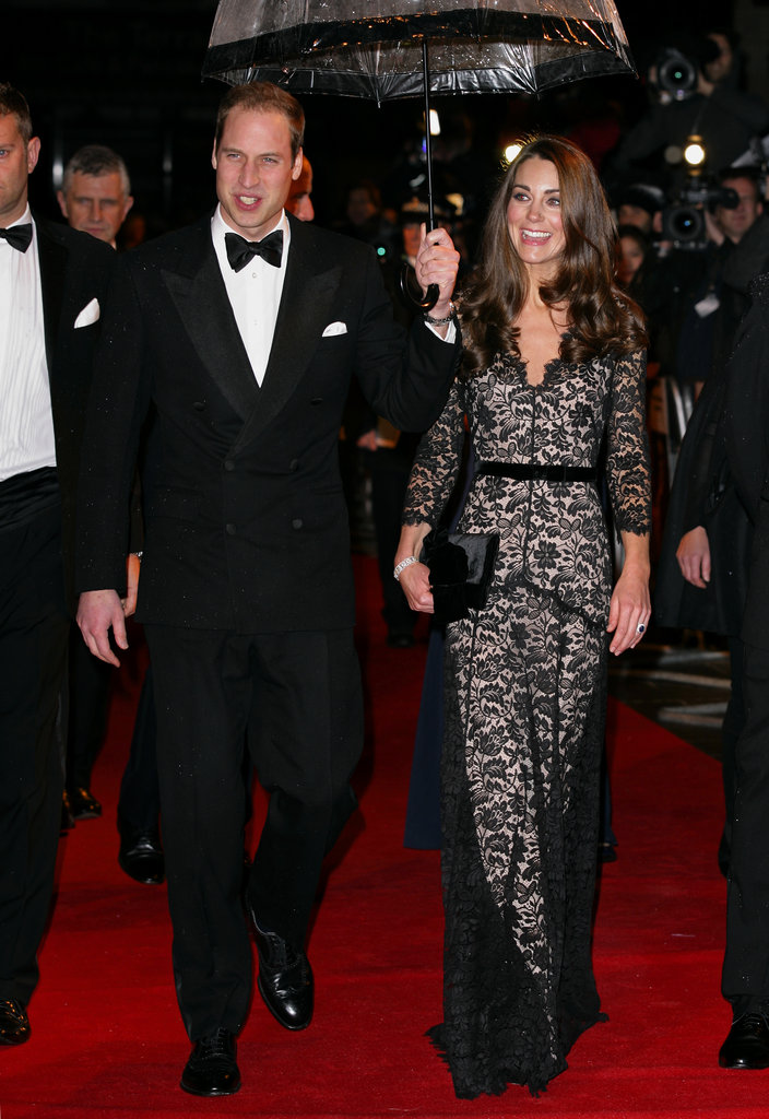 Prince William and Kate Middleton attended the London premiere of War Horse in January.