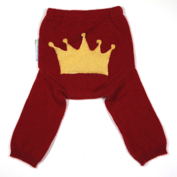 Chickadee and Me's Royal Bunz Diaper Cover