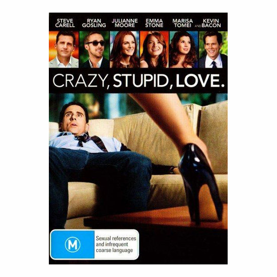 Crazy, Stupid, Love DVD, $15.92