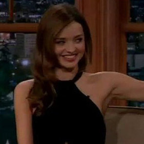 Miranda Kerr on Late Late Show With Craig Ferguson Video