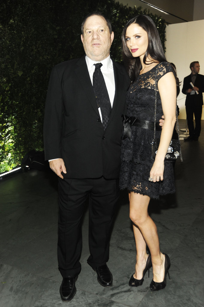 Harvey Weinstein and Georgina Chapman stepped out in NYC for the Museum of Modern Art Film Benefit.