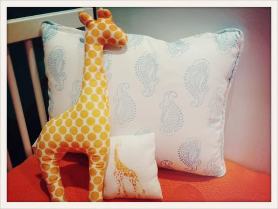 Giraffe Pillows