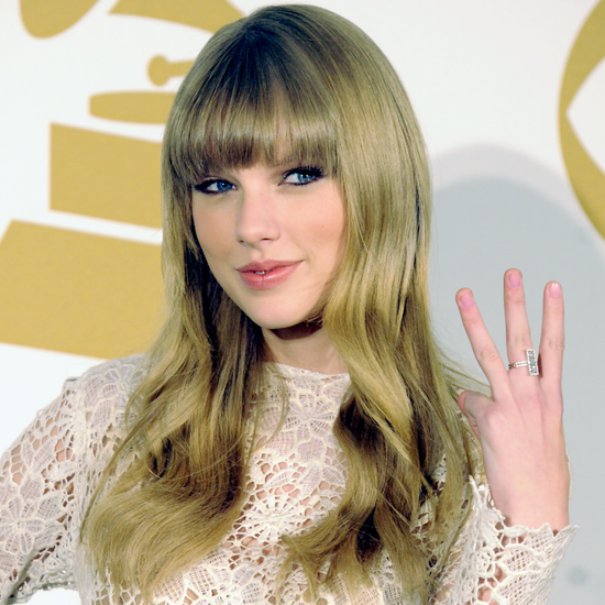 Taylor Swift Wears Winter White — and Snags Three Grammy Nods!