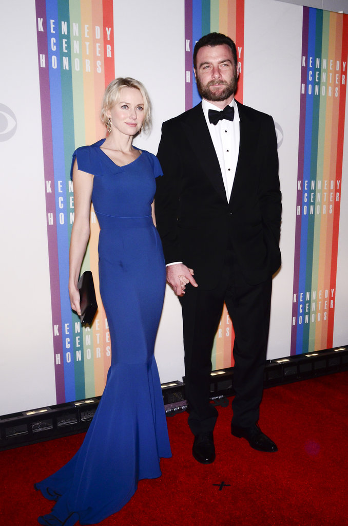 Naomi Watts and Liev Schreiber made a fine couple at the 35th Kennedy Center Honors in Washington DC on December 2.
