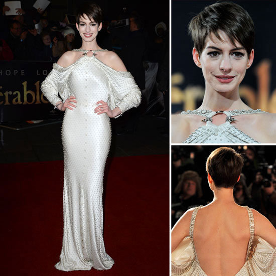 Anne Hathaway Stuns in Givenchy at the Les Misérables Premiere