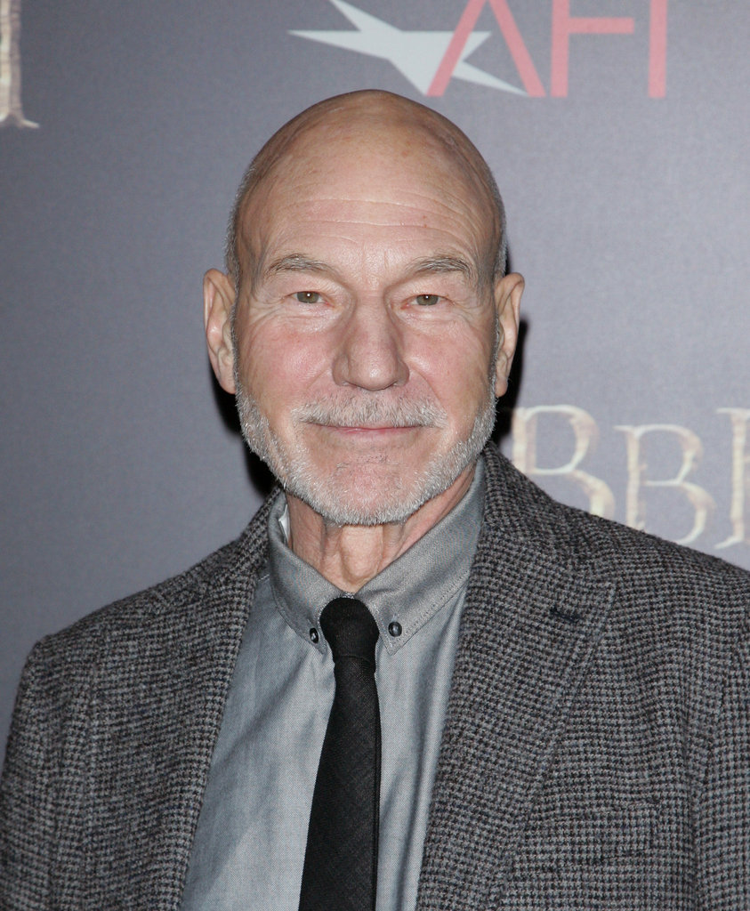 Patrick Stewart walked the carpet.
