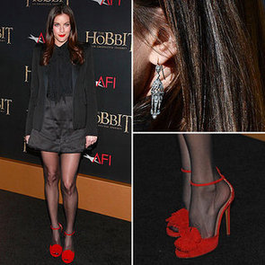 Liv Tyler Wearing Red Heels