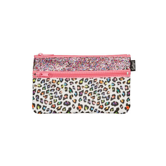 Sportsgirl Double Zipper Leopard, $9.95