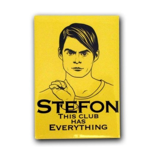 SNL Stefon This Club Has Everything Magnet ($4)
