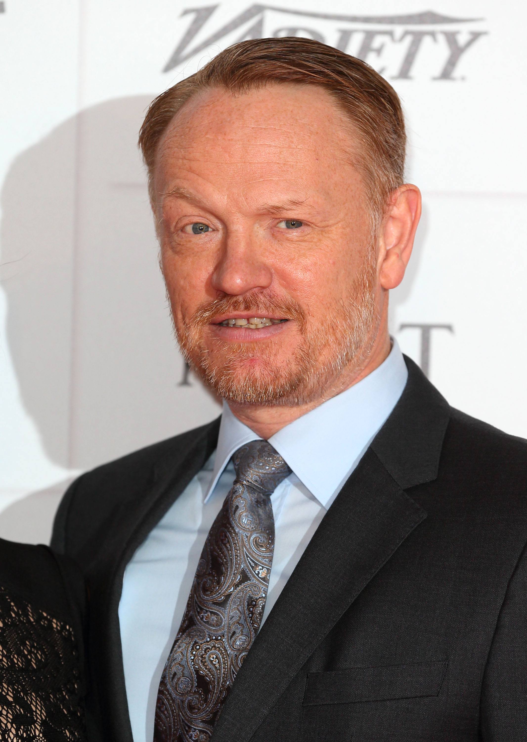 Jared Harris posed on the red carpet at the BIFAs.