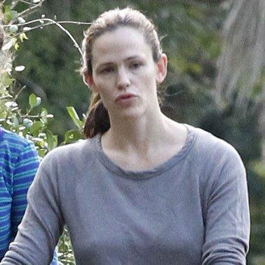 Jennifer Garner Takes Son Samuel to New Orleans | Pictures