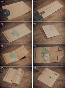 Make a CD Case From Paper
