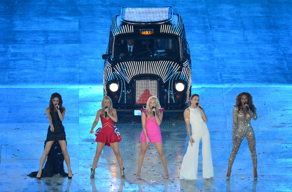 Spice Girls fans all over the world were having a collective freakout when the '90s girl group had a one-night-only reunion during the closing ceremony for the 2012 Olympics in London this summer. Victoria Beckham, Geri Halliwell, Emma Bunton, Mel B, and Mel C were all on hand to sing a medley of their greatest hits during the event. The ladies' performance was the highlight of the night — and quite possibly the highlight of the year for followers of Girl Power.  — Maria Mercedes Lara, associate editor