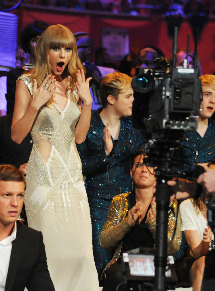 She was shocked to win an award at the MTV EMAs in November 2012.