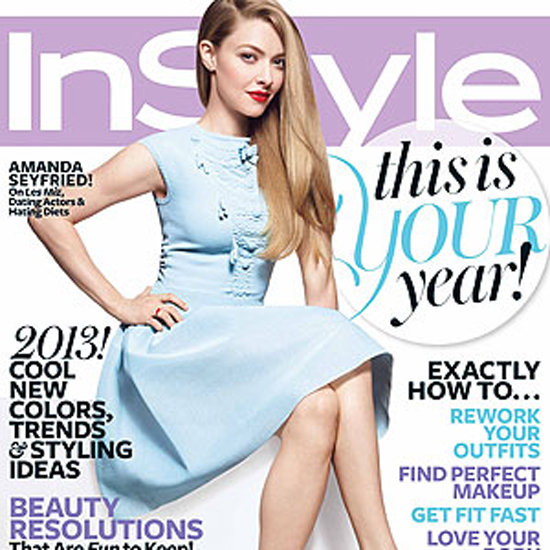 Amanda Seyfriend in US InStyle Magazine January 2013