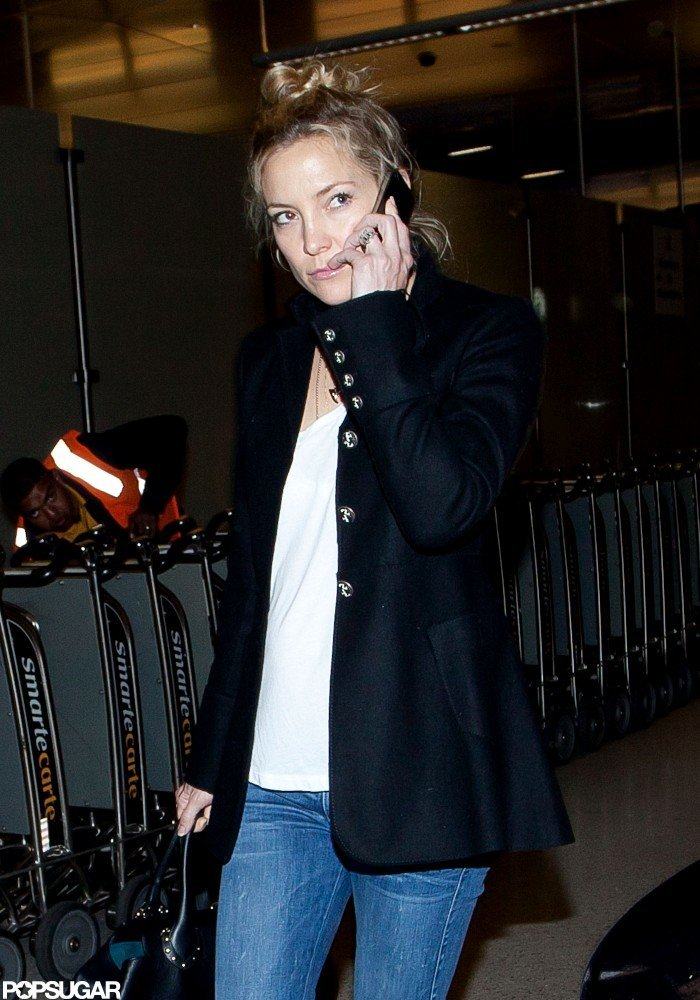 Kate HUdson was out at LAX.