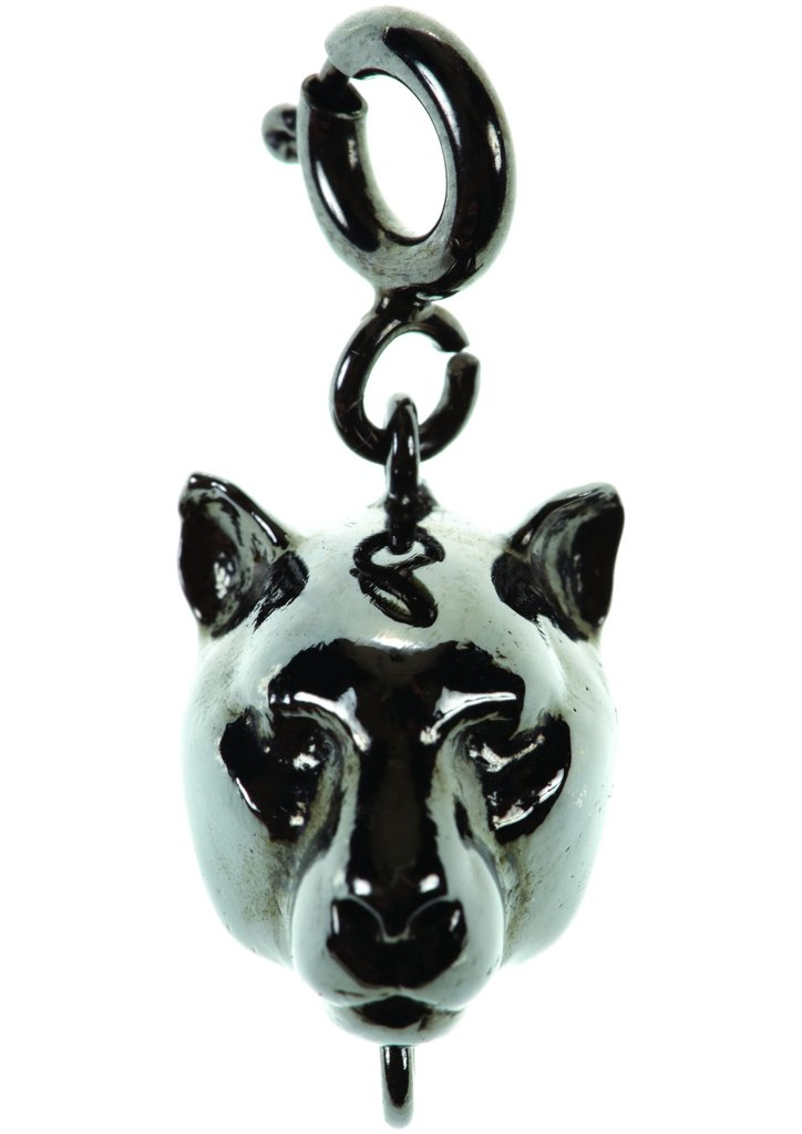 Panther charm with necklace, $125