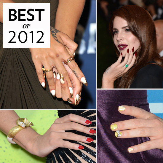 Best of 2012: Celebrity Nail Art
