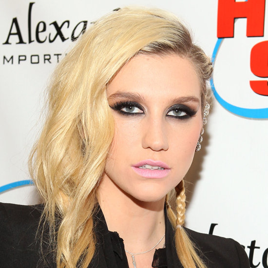 Copy Kesha's Baby Pink Lips and Punk Hairstyle