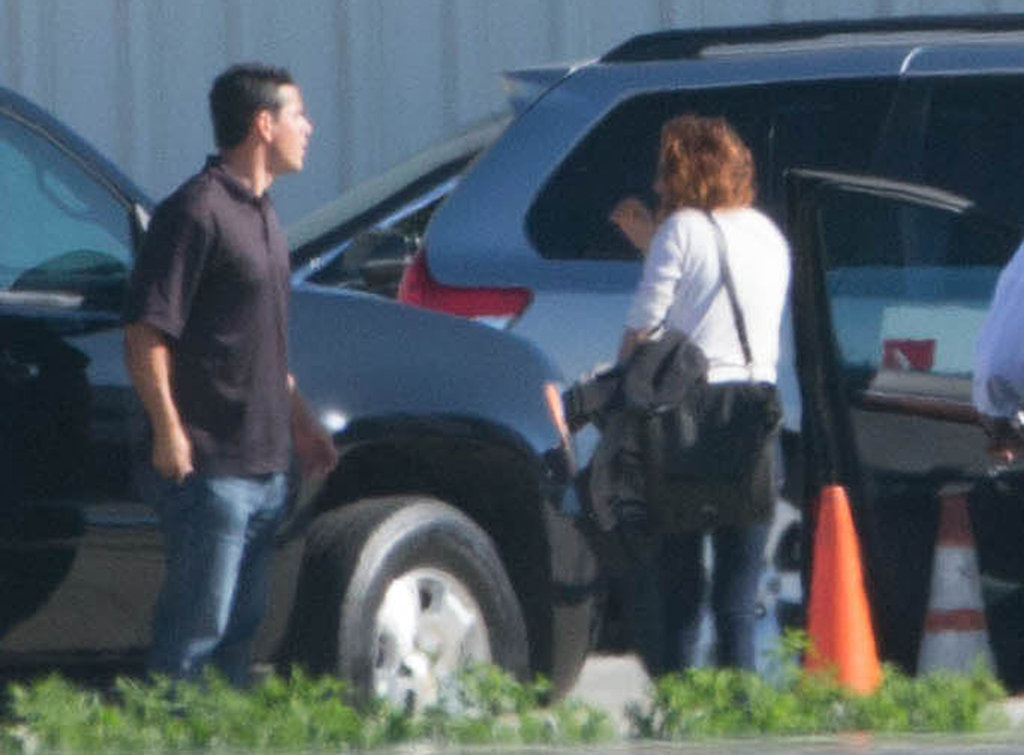 Kristen Stewart stepped out at an airport in LA.