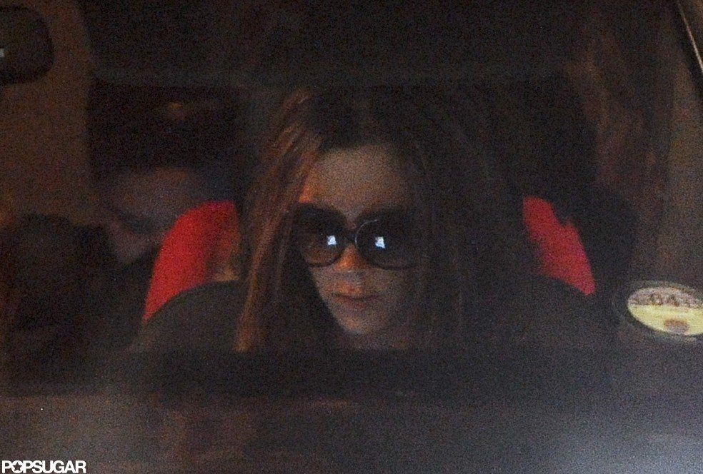 Victoria Beckham Dines Out With Harper and Cruz in London