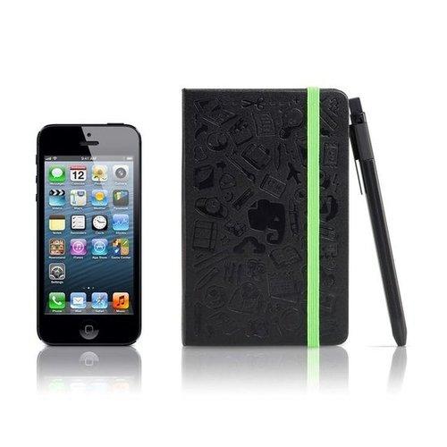 Moleskine Pocket Notebook Set With Click Roller Pen