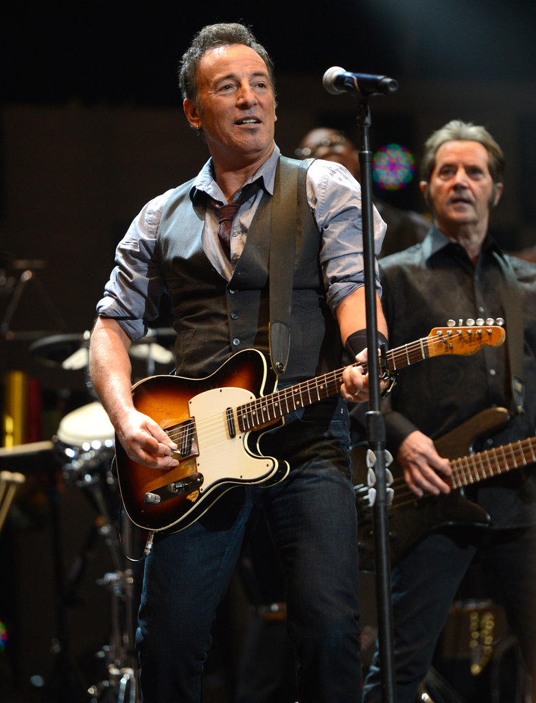Bruce Springsteen performed at the 12/12/12 concert.
