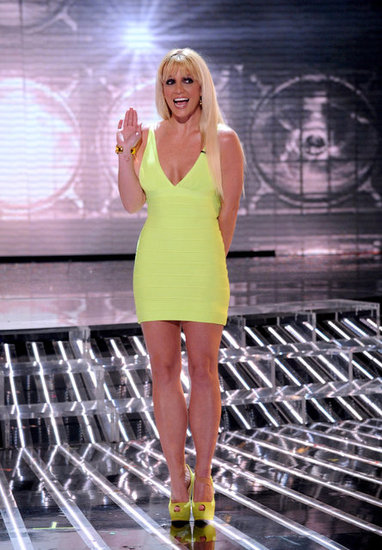 Britney Spears greeted viewers.