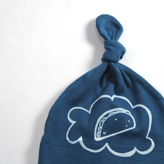 LEFTRight Organic Baby Taco Hat ($15)