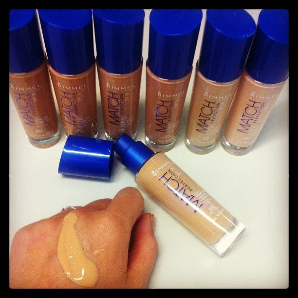 Alison got her hands on Rimmel London's new Match Perfection Foundation, literally. This magical stuff hits stores on February 1.
