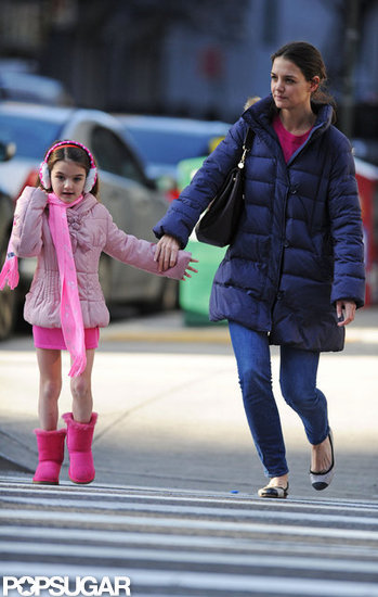 Suri Has a Pink Party For Early Christmas With Katie