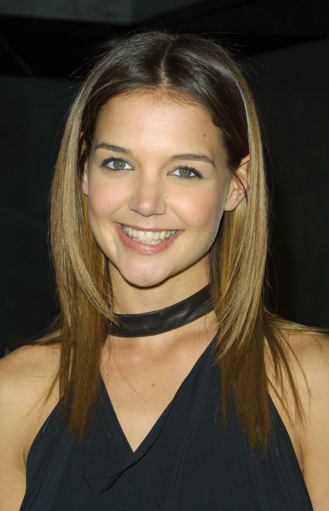 To celebrate the 100th episode of Dawson's Creek in 2002, Katie opted for girl-next-door makeup. And with those honey-blond highlights, it was clear she was up on her early '00s trends.