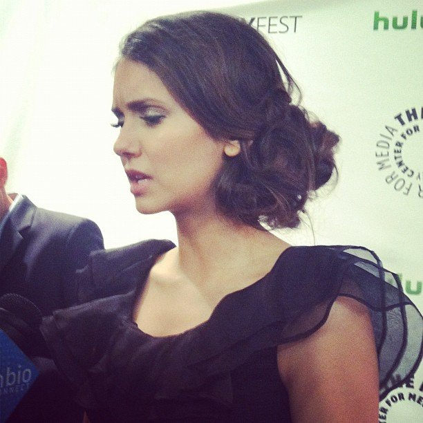We chatted about vampires, high school, and the woes of dating brothers with Nina Dobrev at this year's PaleyFest.
