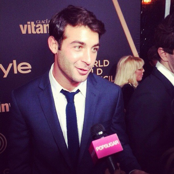 James Wolk shared his holiday plans, which include a trip to the East Coast, with us at this year's Miss Golden Globe announcement celebration in LA.